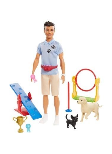 Barbie Gjm32 Ken Ve Meslekleri Oyun Seti /Barbie Ben Büyüyünce Renkli